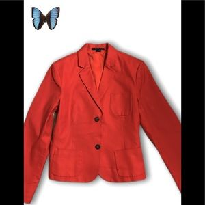 🔥Theory🔥 Red Blazer NWOT